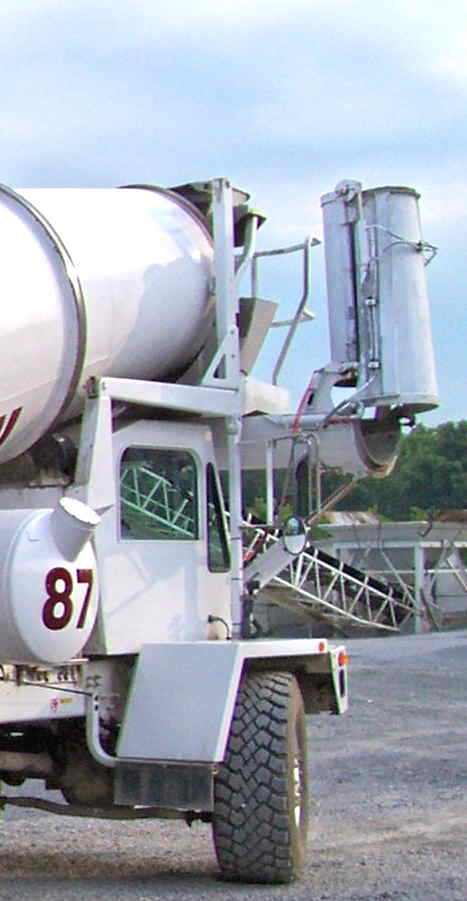 Front Load Mixer ~ Front discharge mixers concrete mixer supply